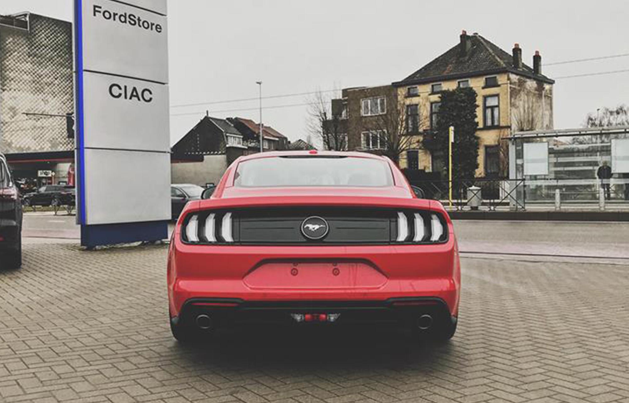Nieuwe Ford Mustang