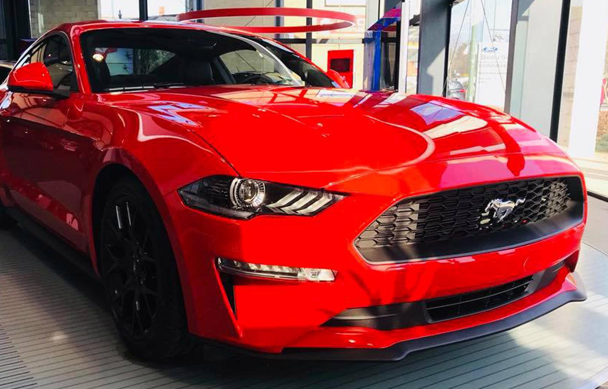 Nieuwe Ford Mustang bij AB Automotive