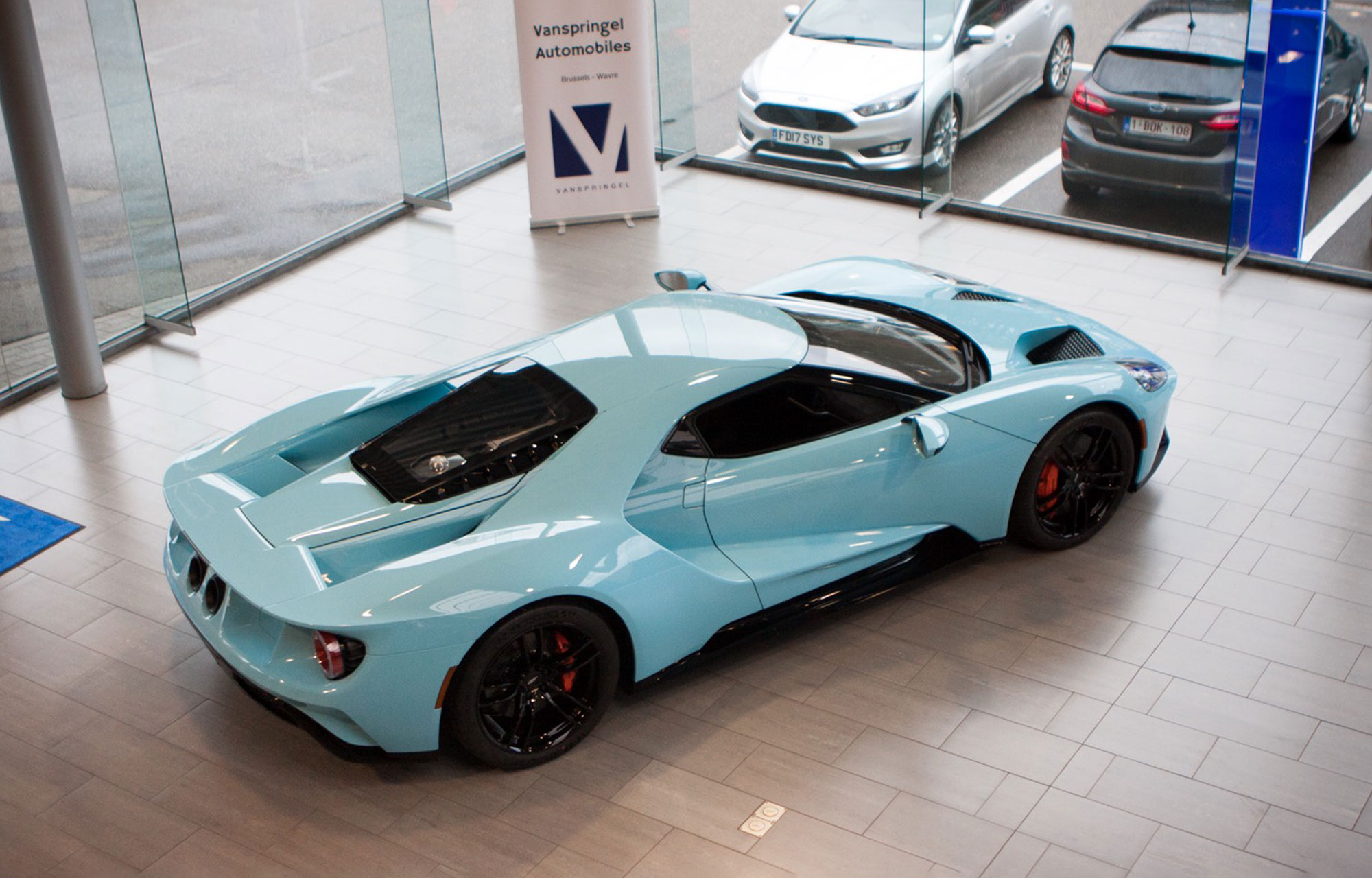 Nouvelle Ford GT