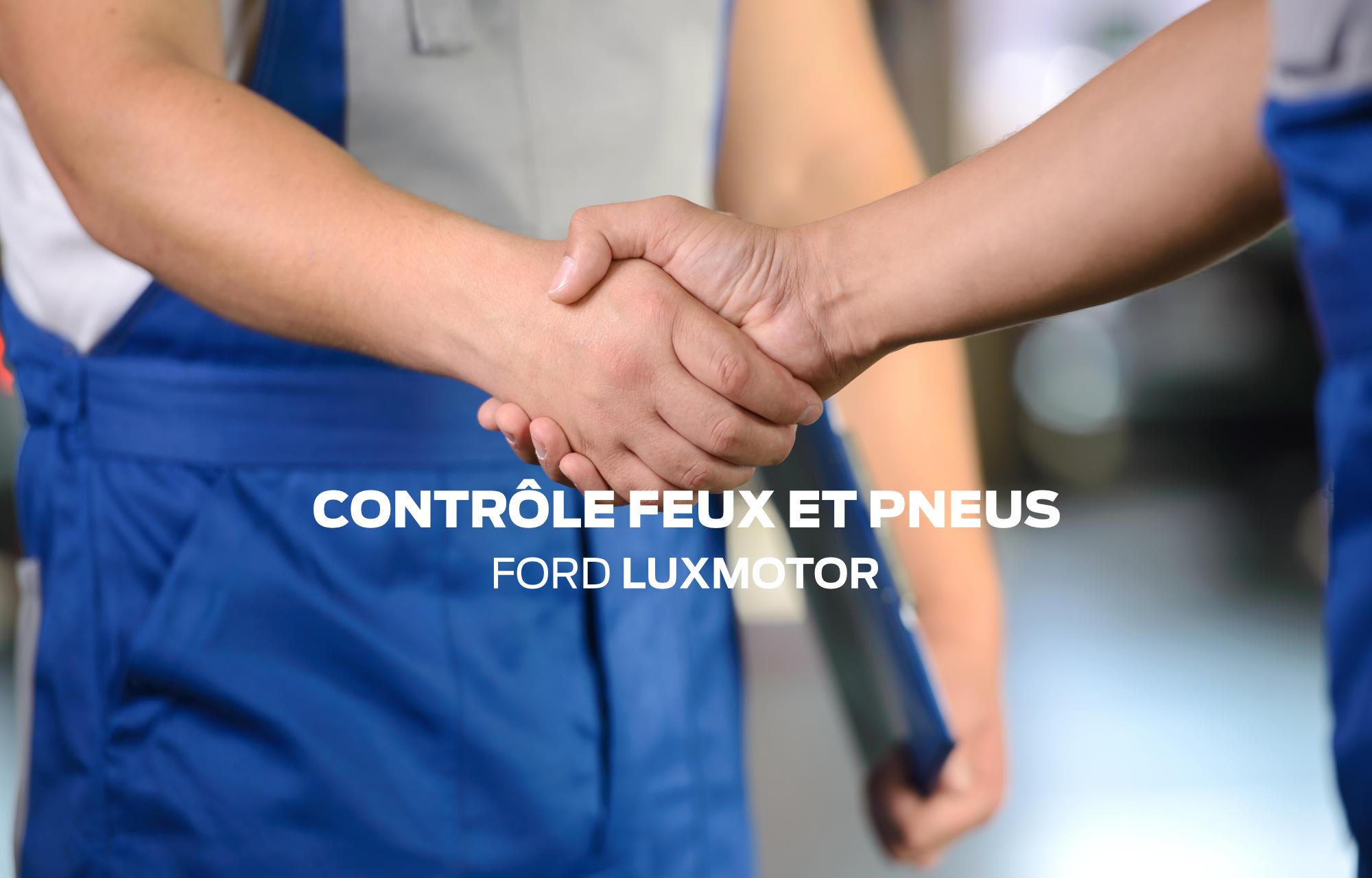 Contrôle feux et pneus LuxMotor