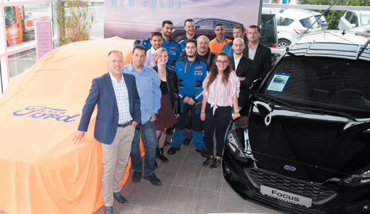 L'equipe LuxMotor fete ses 15 ans