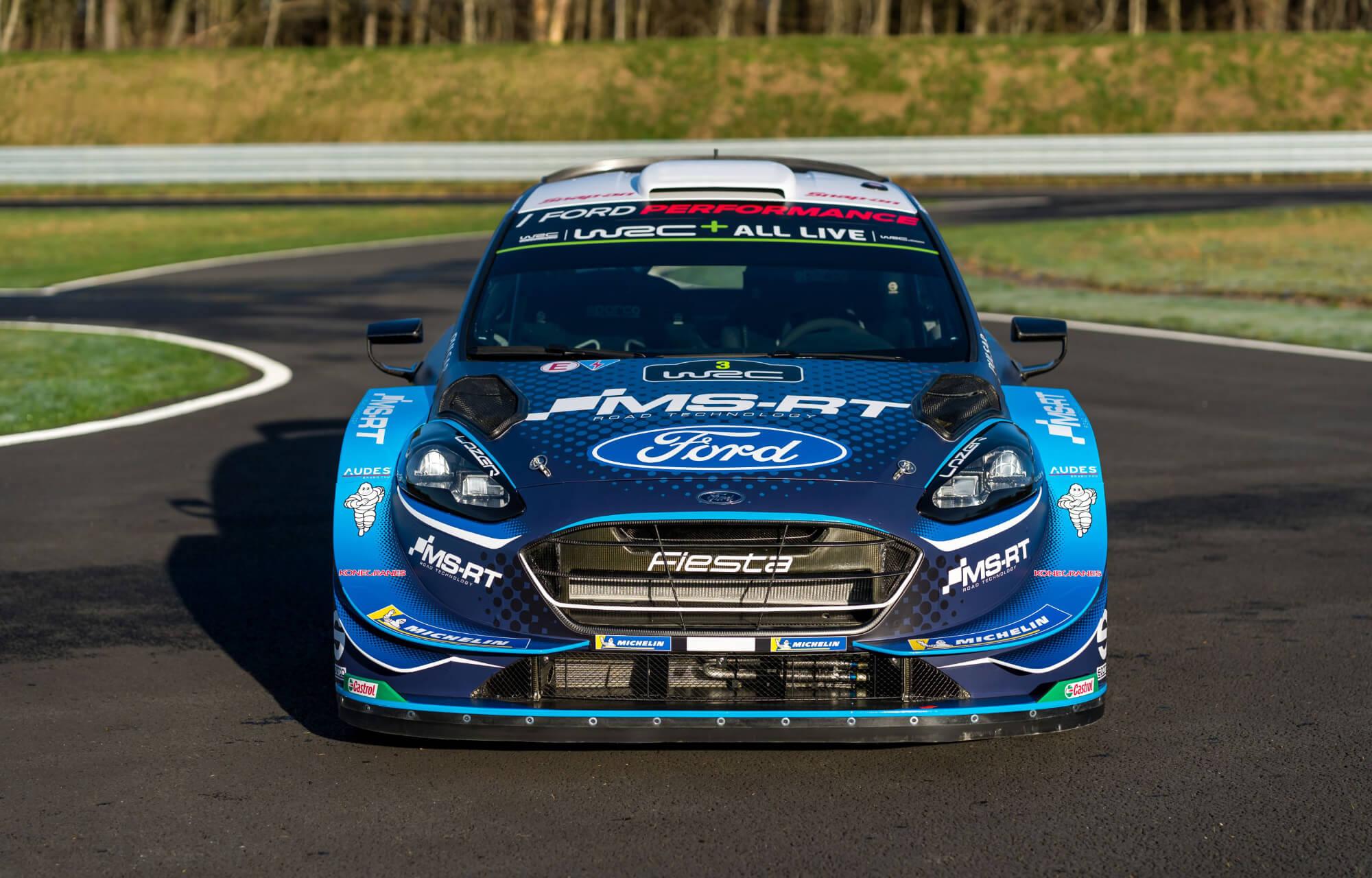 Ford Fiesta WRC M-S-Sport