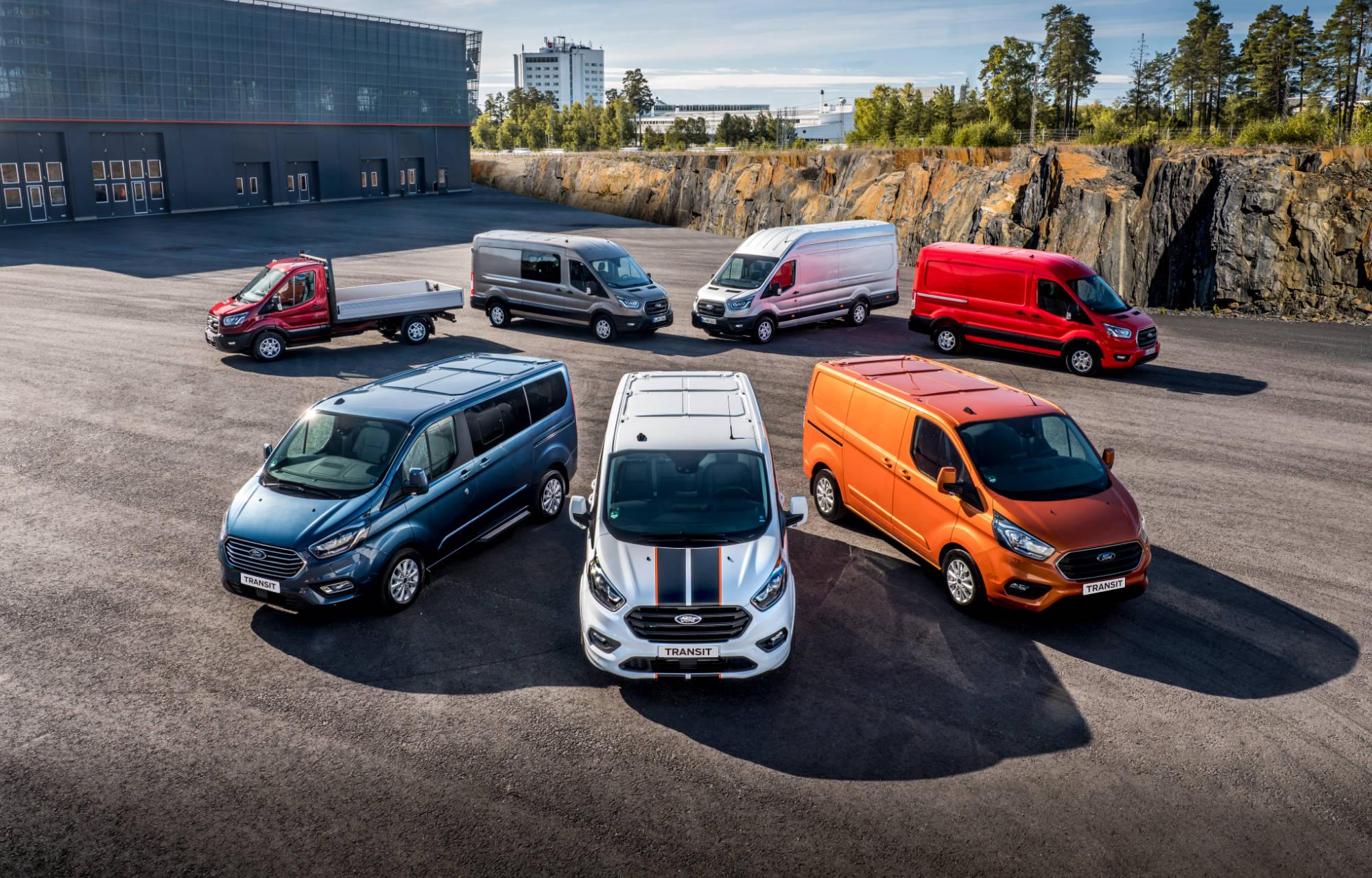 Offre de véhicules utilitaires Ford