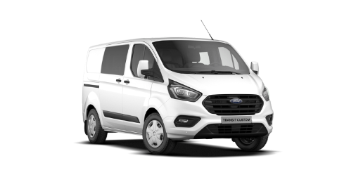 Ford Transit Custom Double Cabine Aanbieding