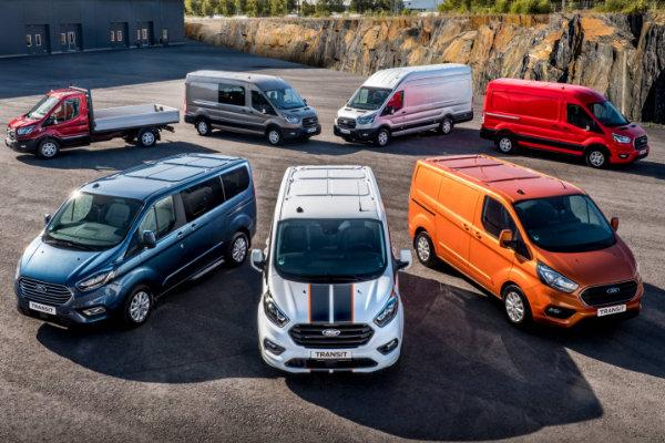 Ford Bedrijfswagens Aanbieding