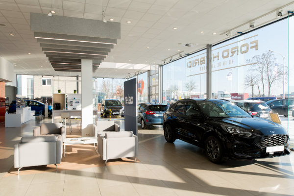 Showroom Beckers Motors & Partners