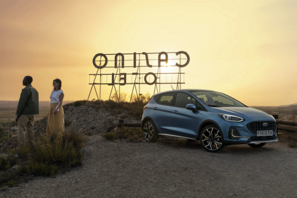 Ford Fiesta Active strand