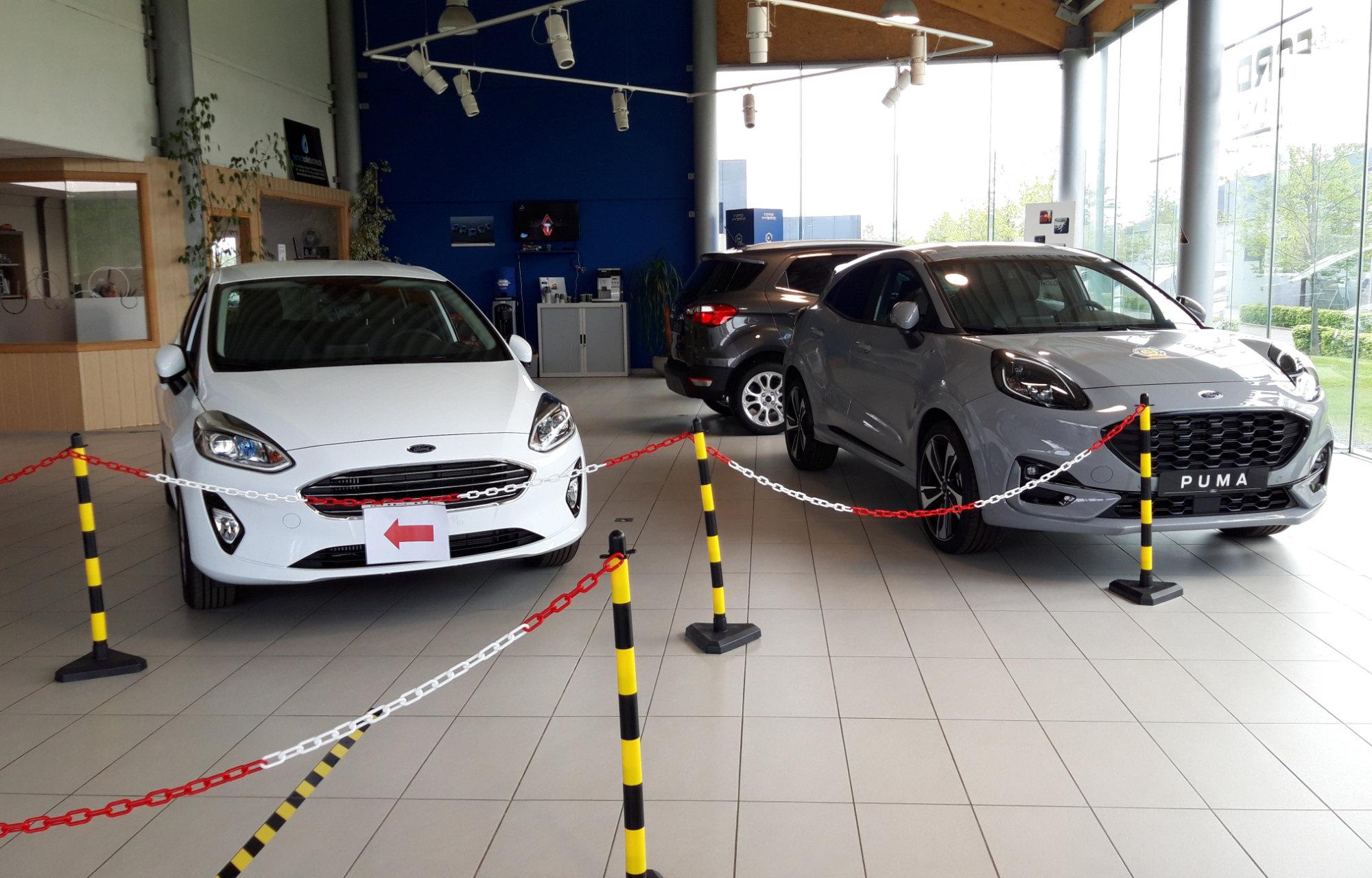 Mesures de sécurité Ford