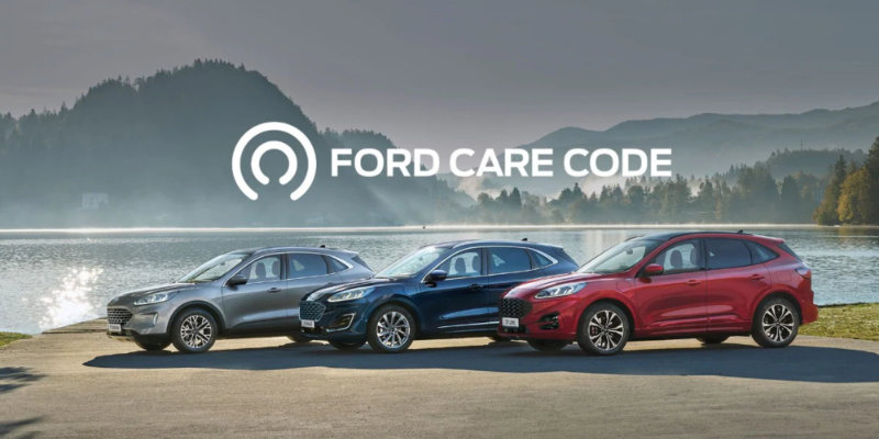 Ford Care Code LuxMotor