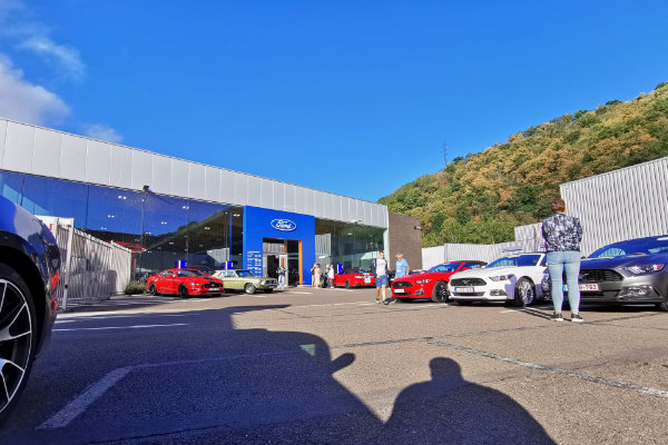 Mustang Ardennes Tour Spirletautomobiles