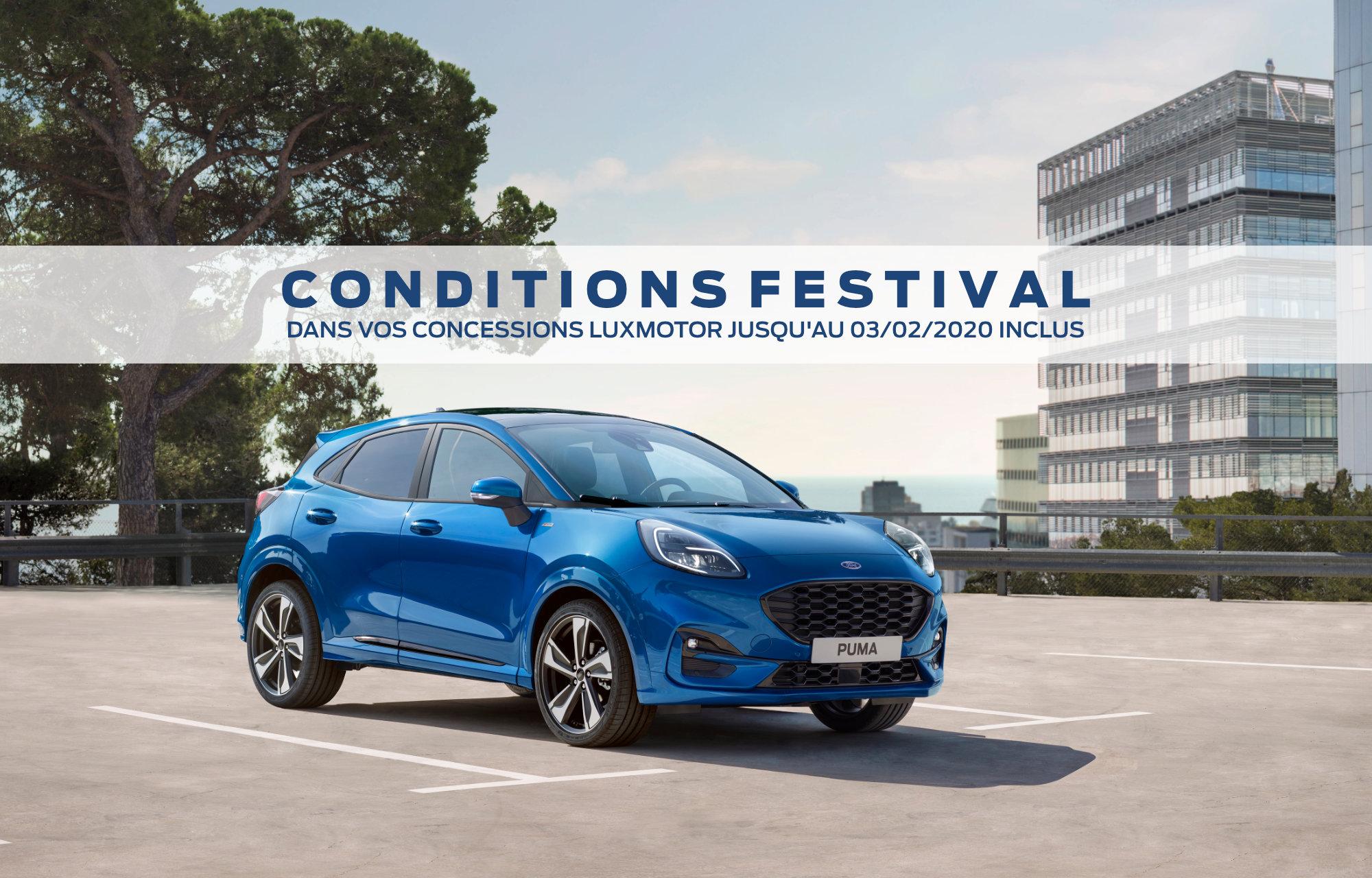 Conditions Festival LuxMotor