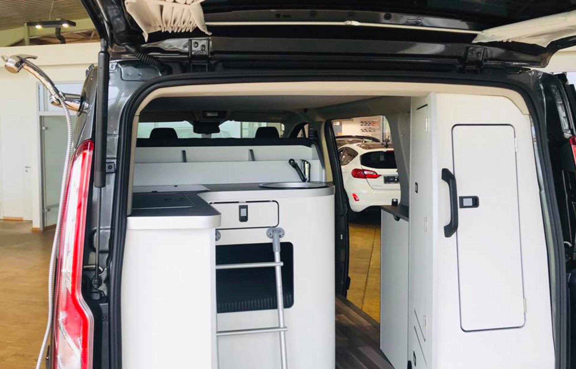 Nouveau Ford Transit Custom Nugget