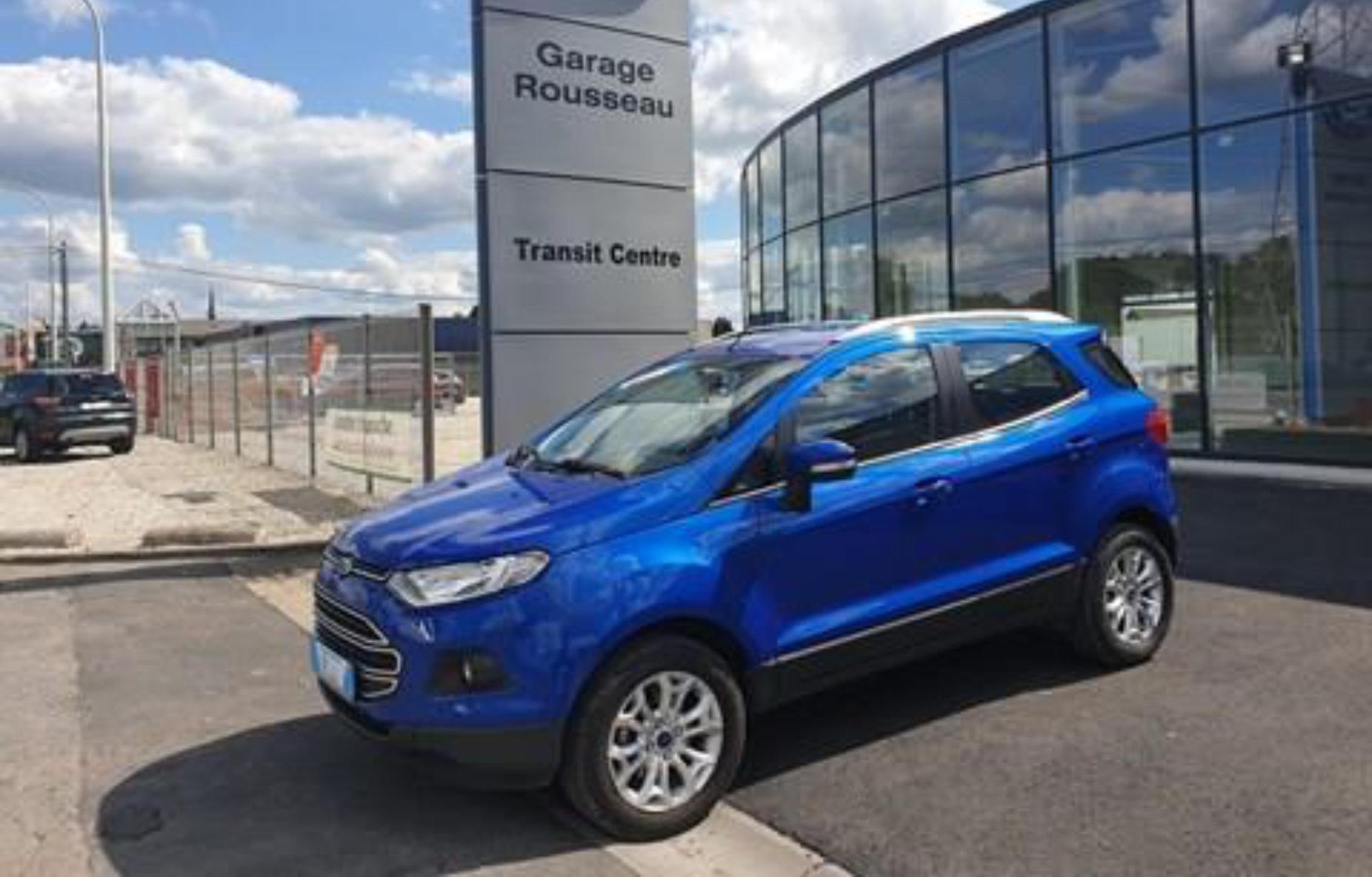 Ford EcoSport Garage Rousseau