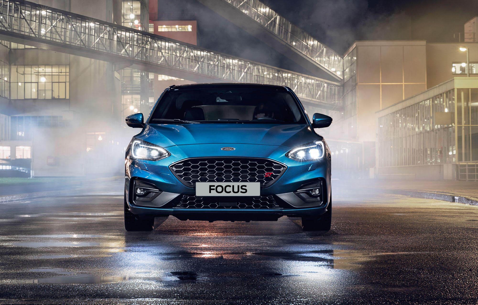 Nouvelle Ford Focus ST]