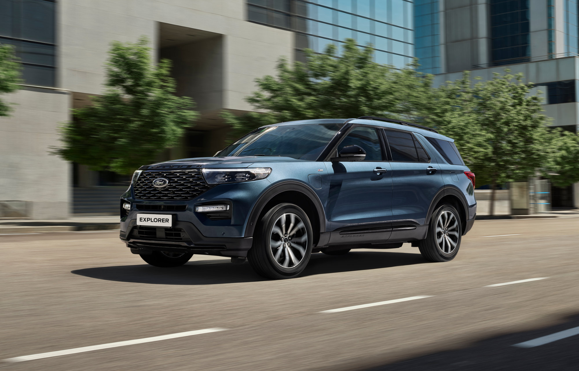 Ford Explorer SUV hybride Luxembourg