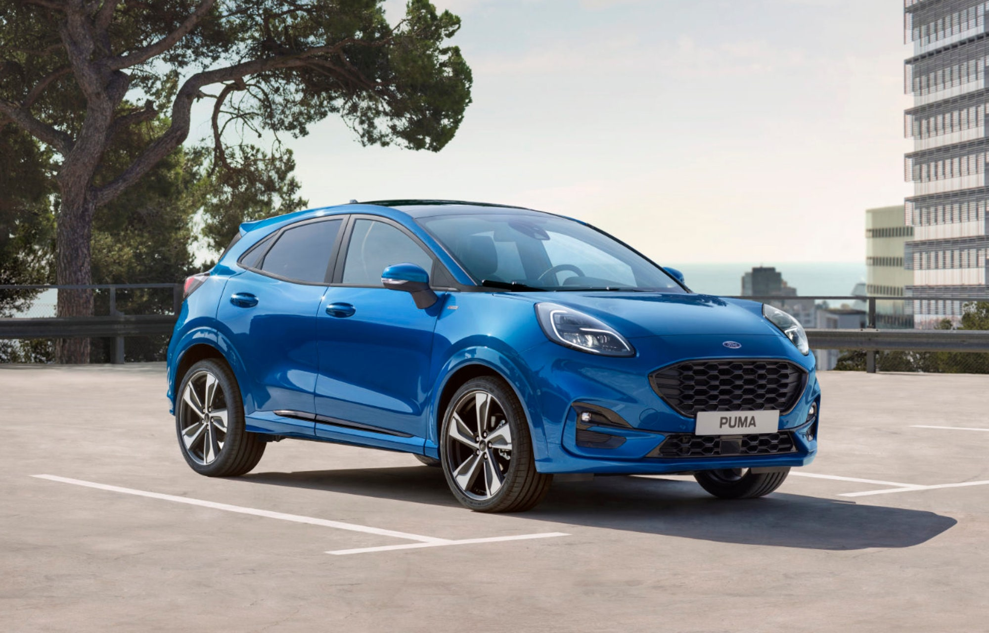 Ford Puma SUV hybride Luxembourg