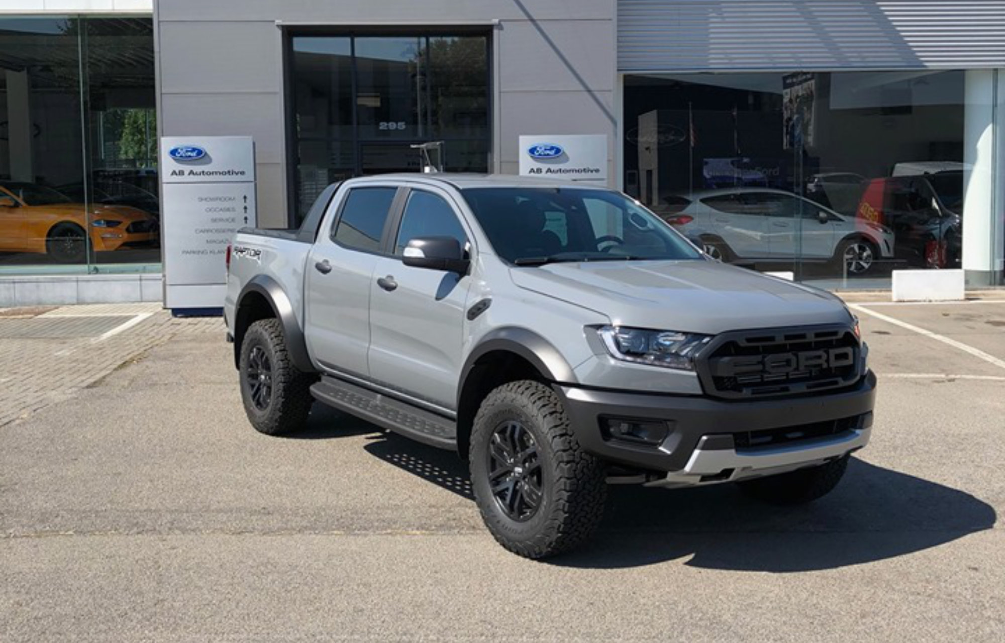 Ford Ranger Raptor AB Automotive