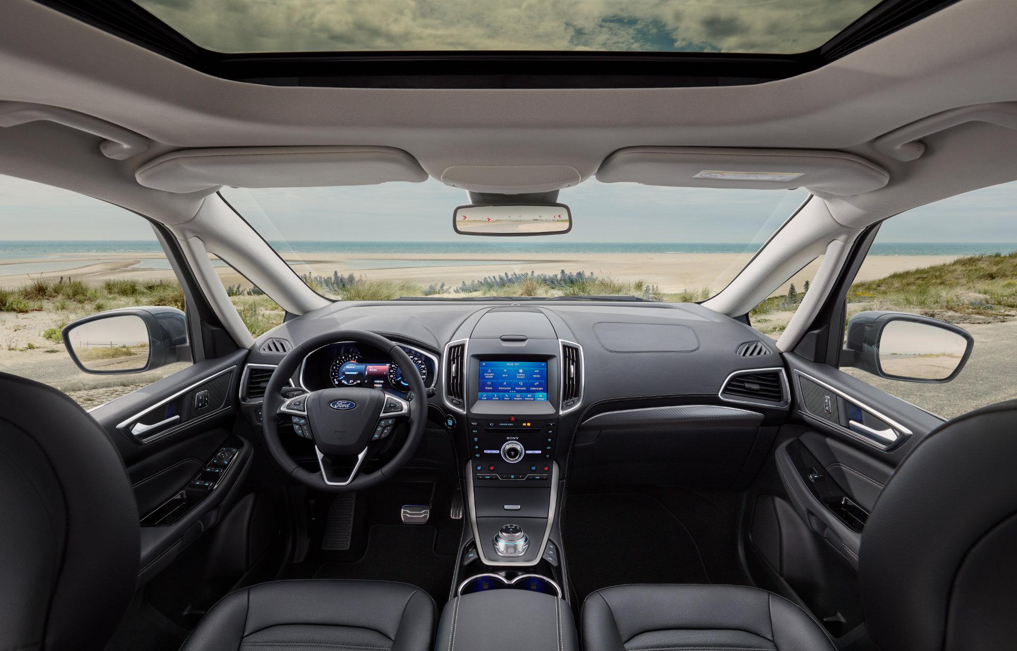 Nieuwe Ford Galaxy