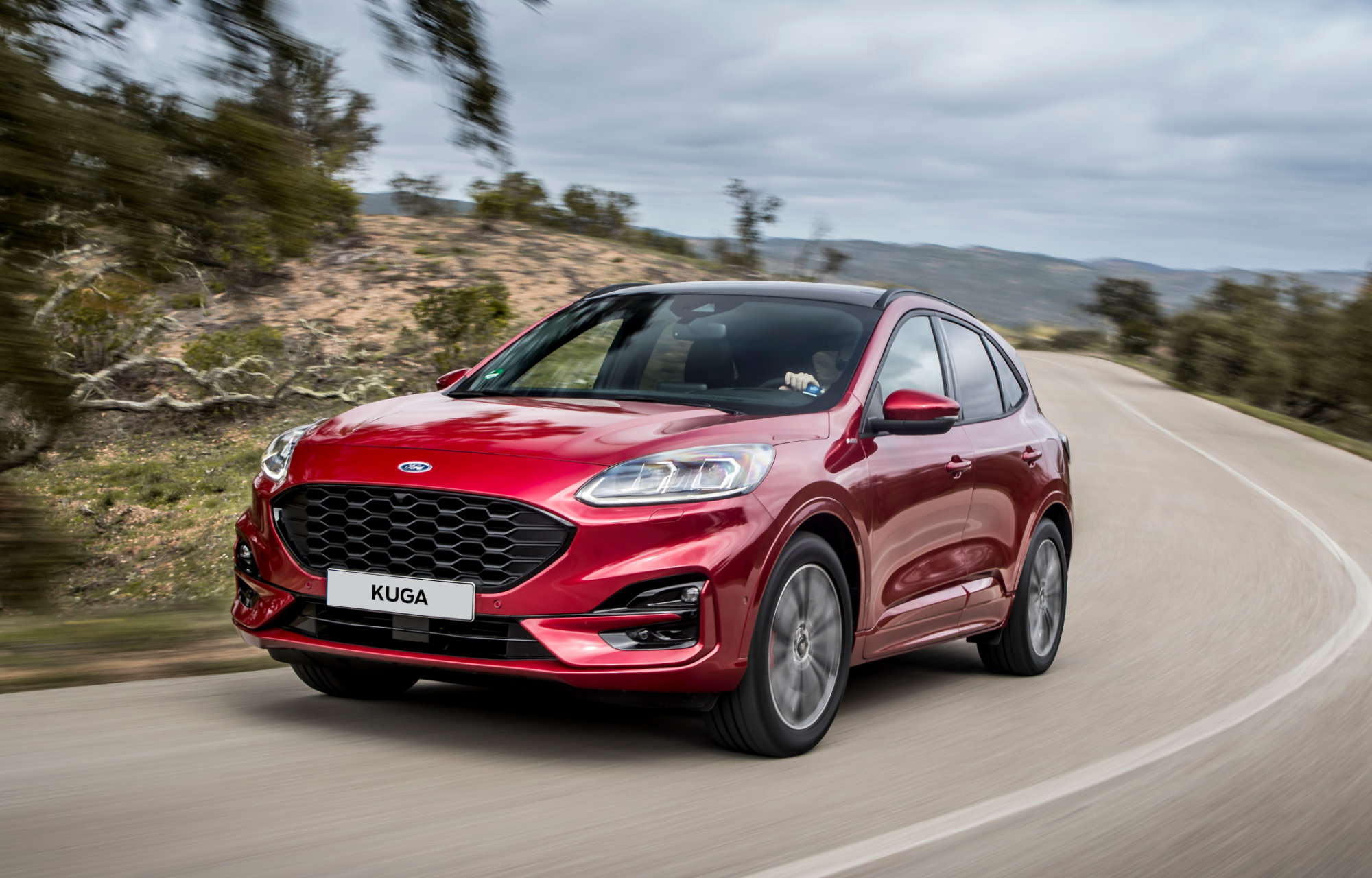 Ford Kuga SUV hybride Luxembourg