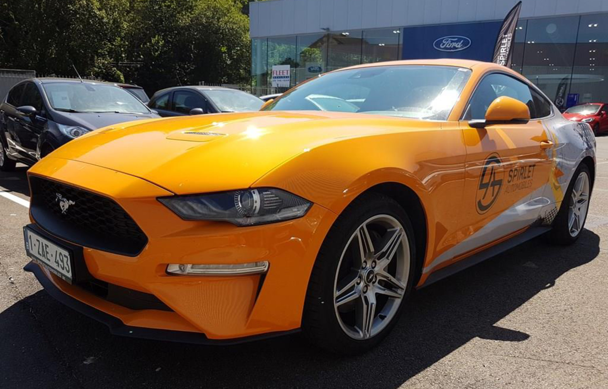Nouvelle Ford Mustang Spirletautomobiles