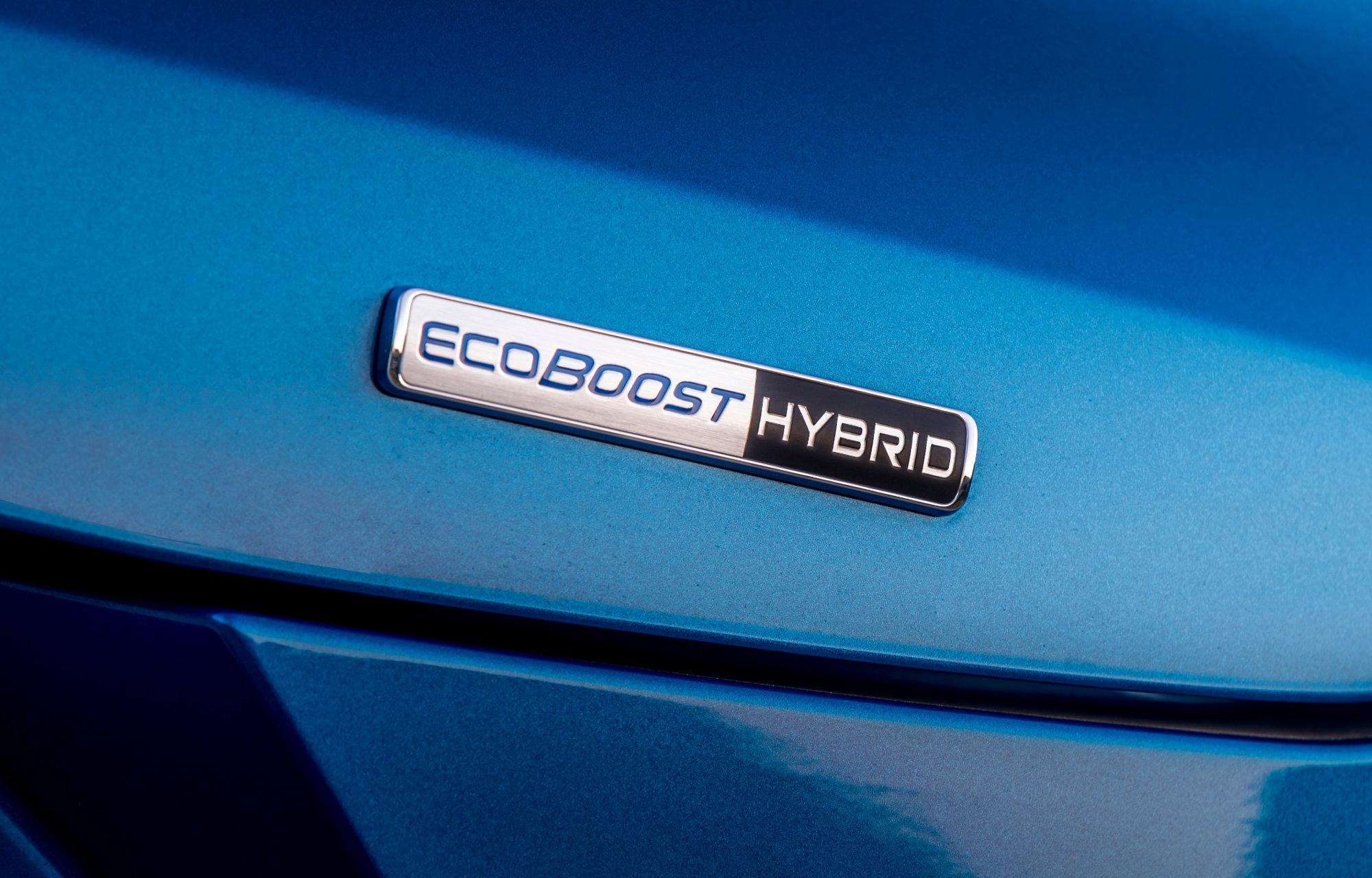 Elektrische hybride motor Ford Puma