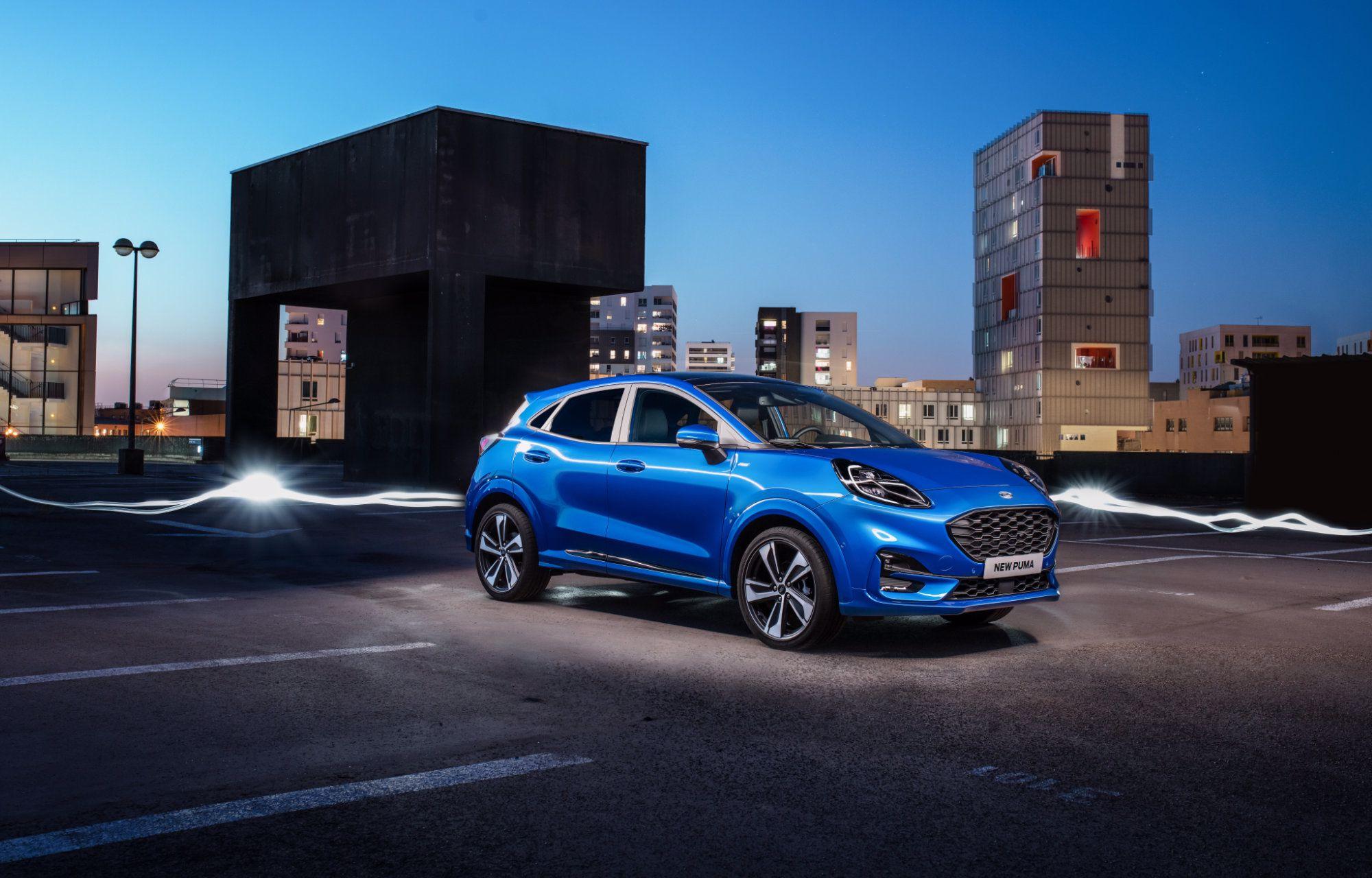 Nieuwe Ford Puma Hybrid
