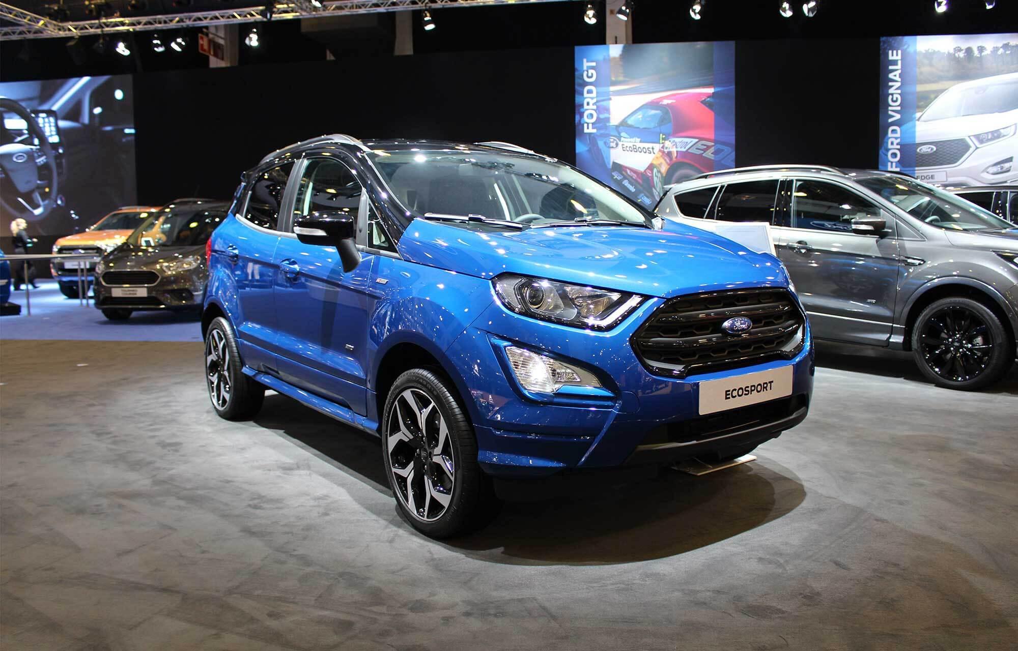 EcoSport ST-Line Autosalon 2018