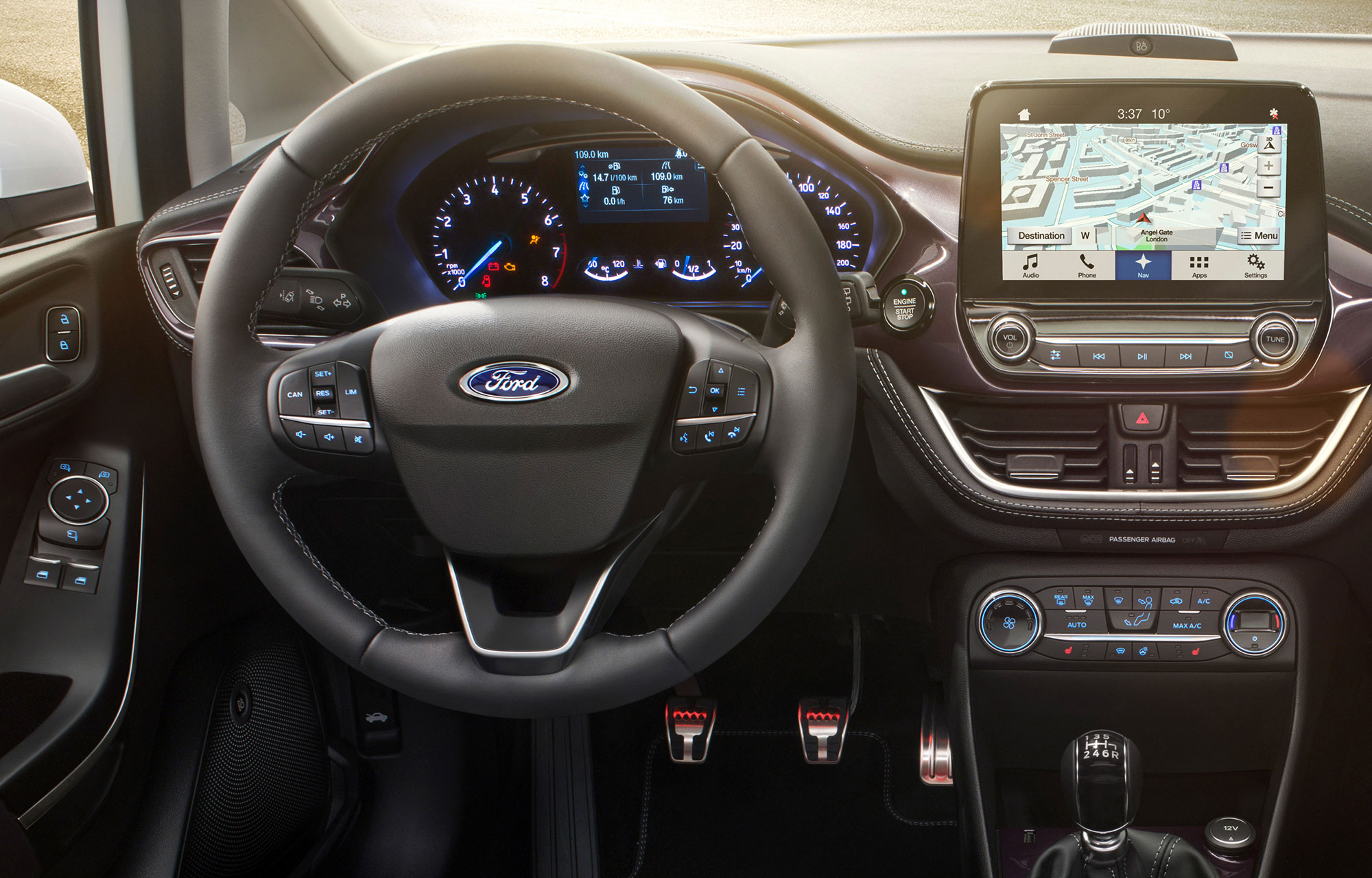 Nieuwe generatie Ford Fiesta Vignale