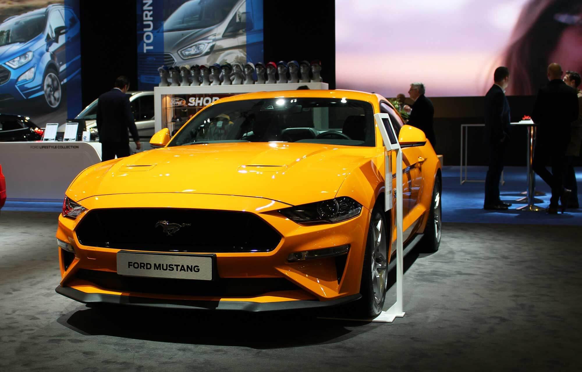 Nieuwe Ford MustangAutosalon 2018