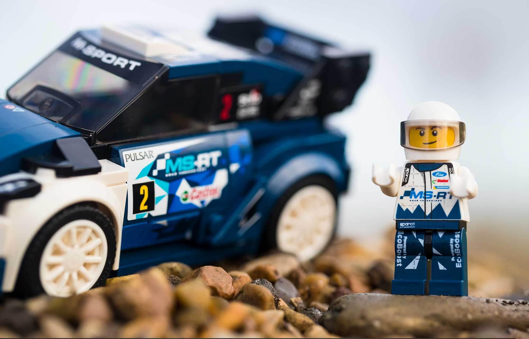 Ford M-Sport WRC Lego-wagen