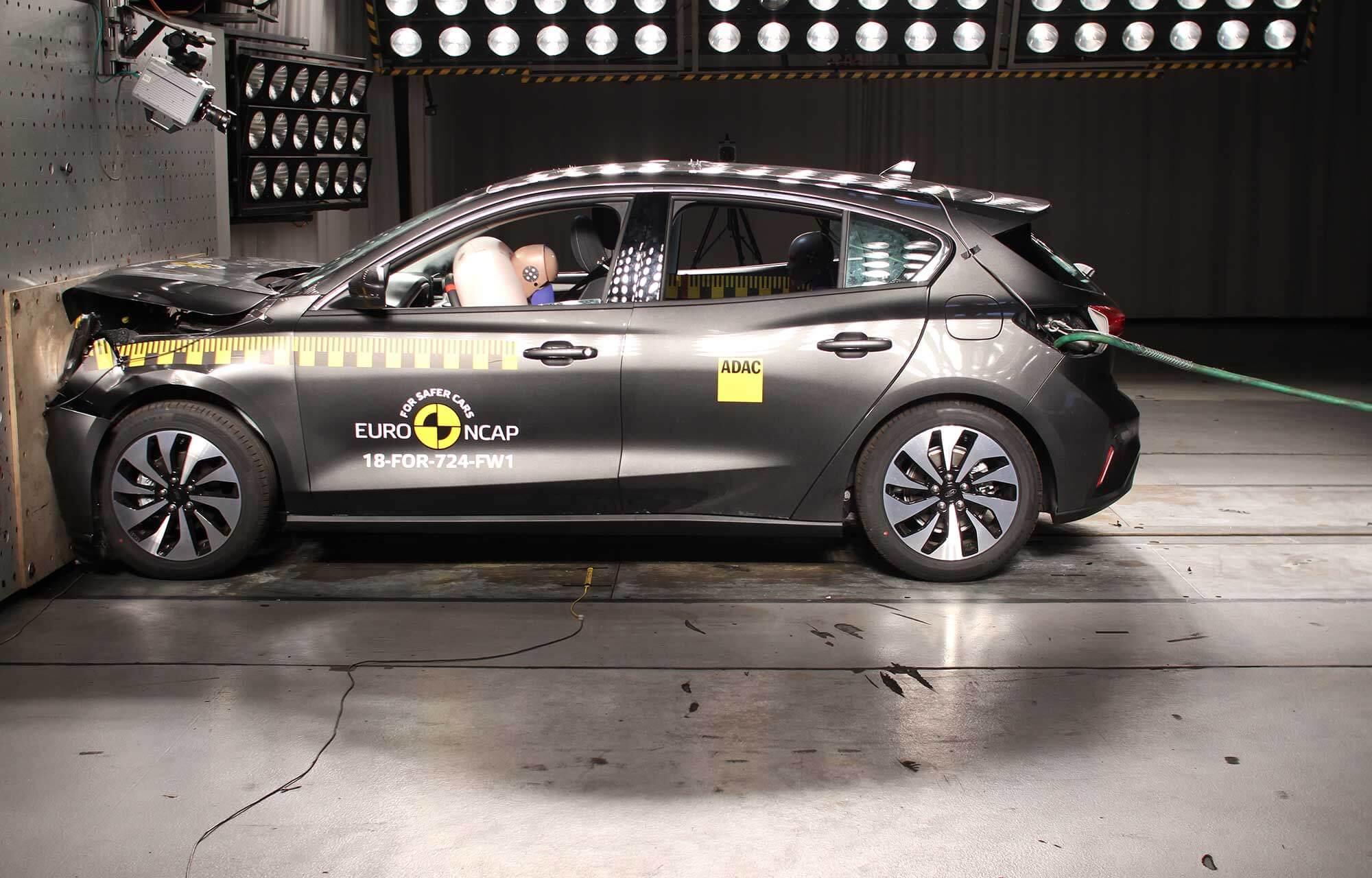 Nieuwe Ford Focus NCAP 2018