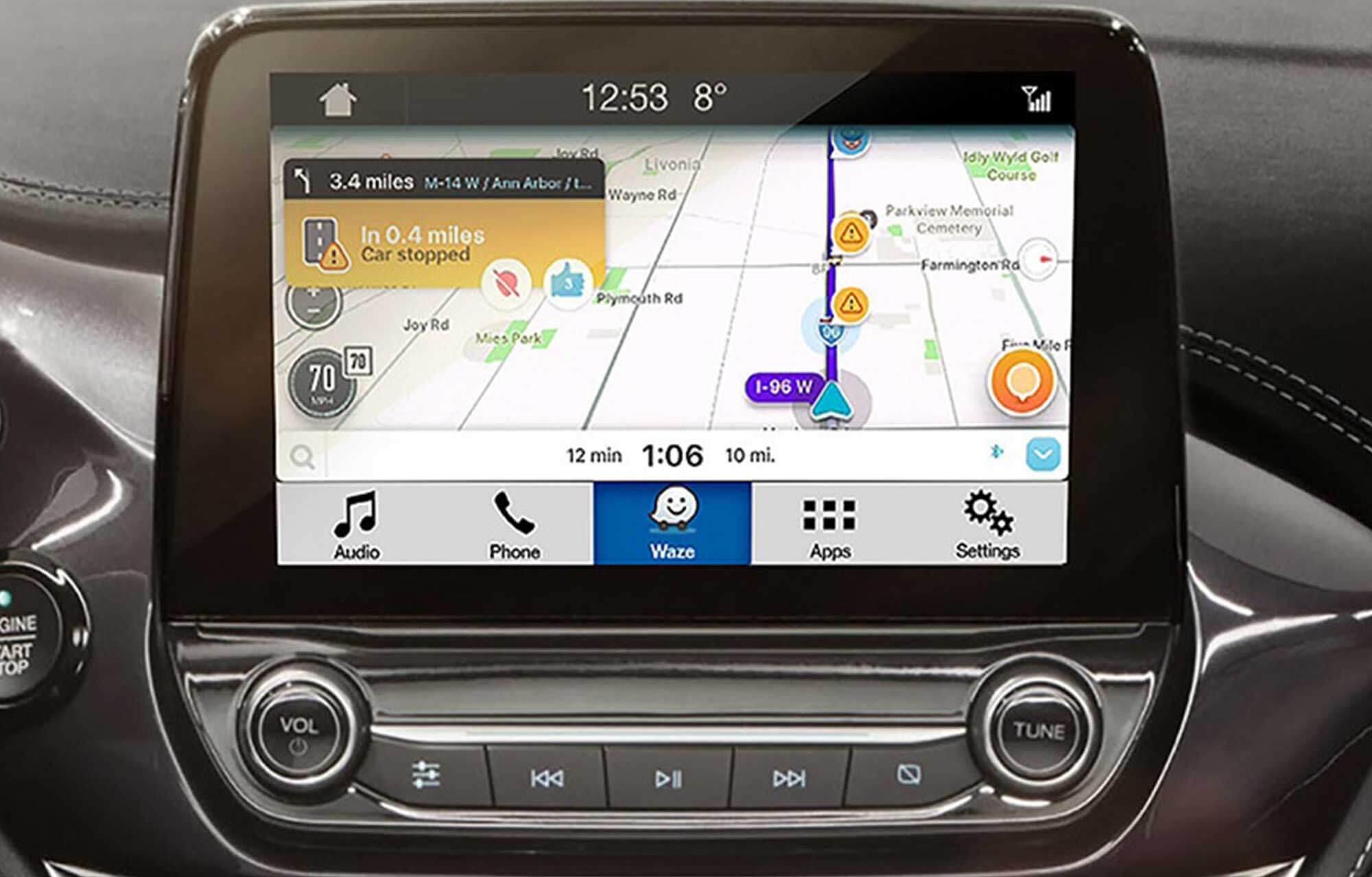 Waze Applink SYNC 3 routebeschrijving