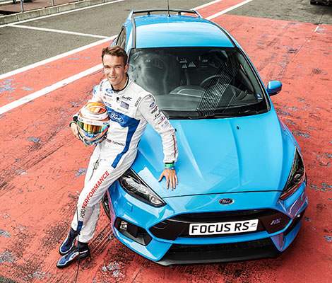 Harry Tincknell en de Focus RS