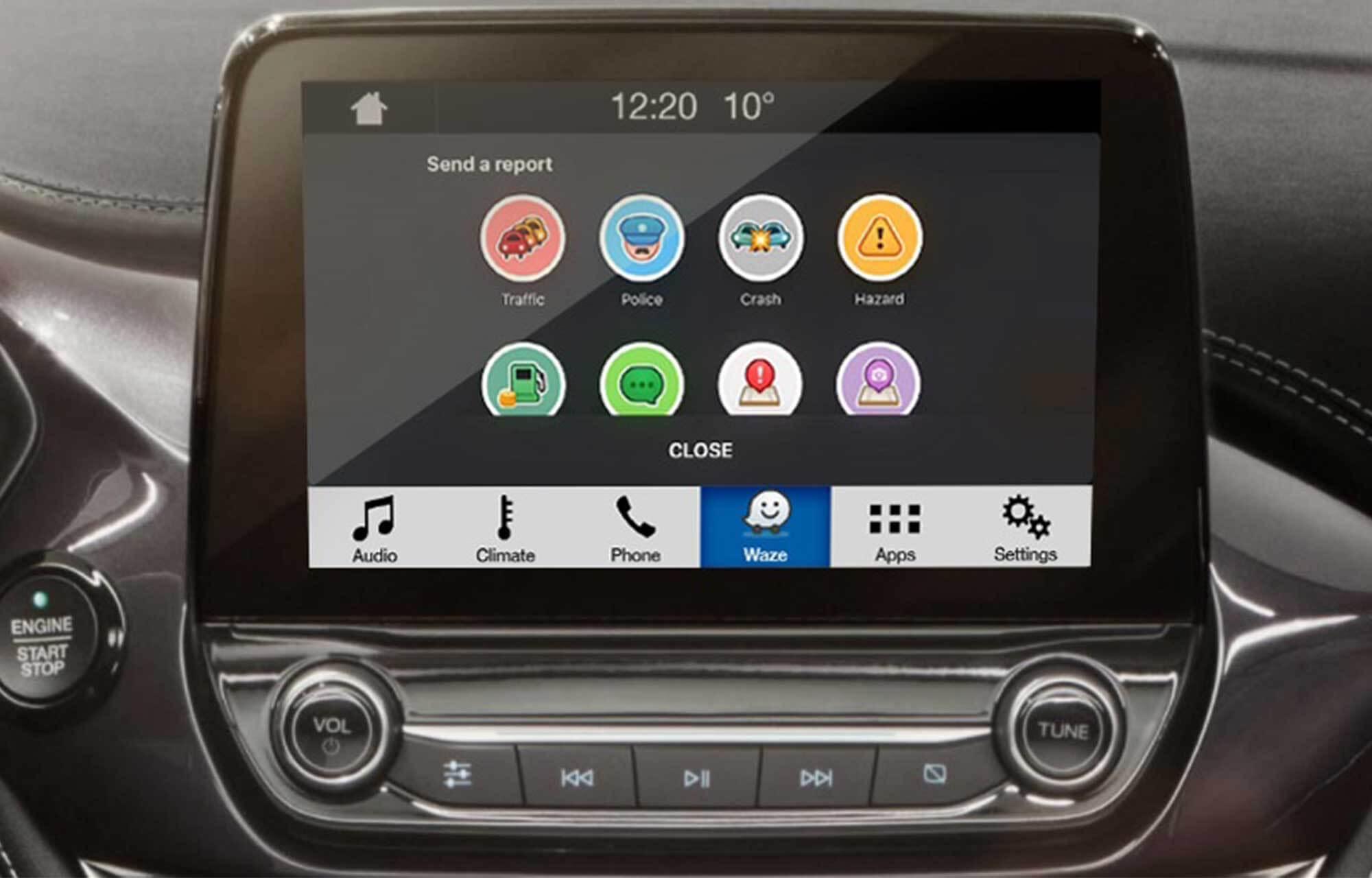Waze Applink SYNC 3