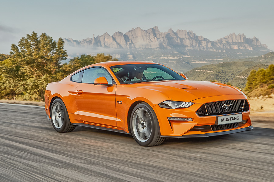 La nouvelle Ford Mustang