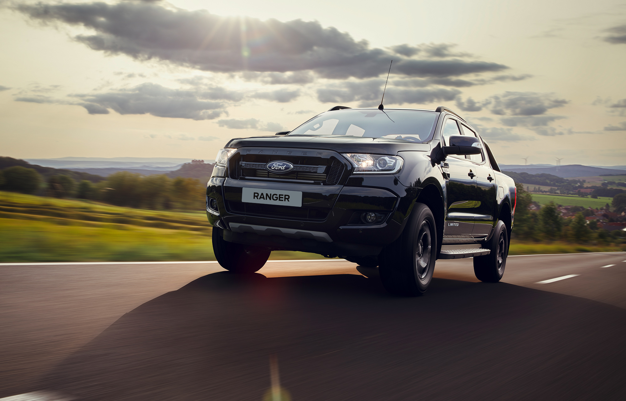 Le Ford Ranger Black Edition