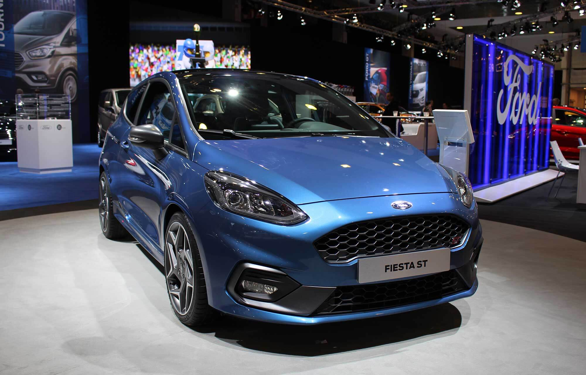 Fiesta ST close-up Autosalon 2018