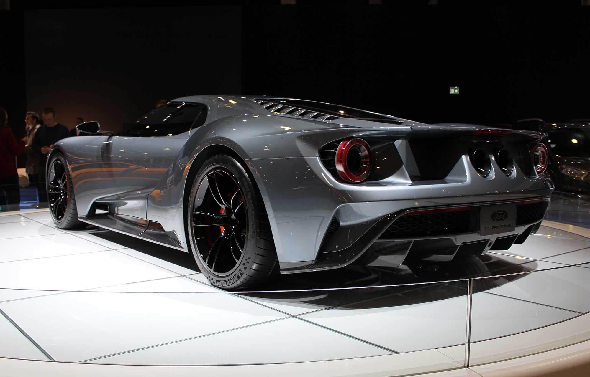 nouvelle Ford GT Autosalon 2018