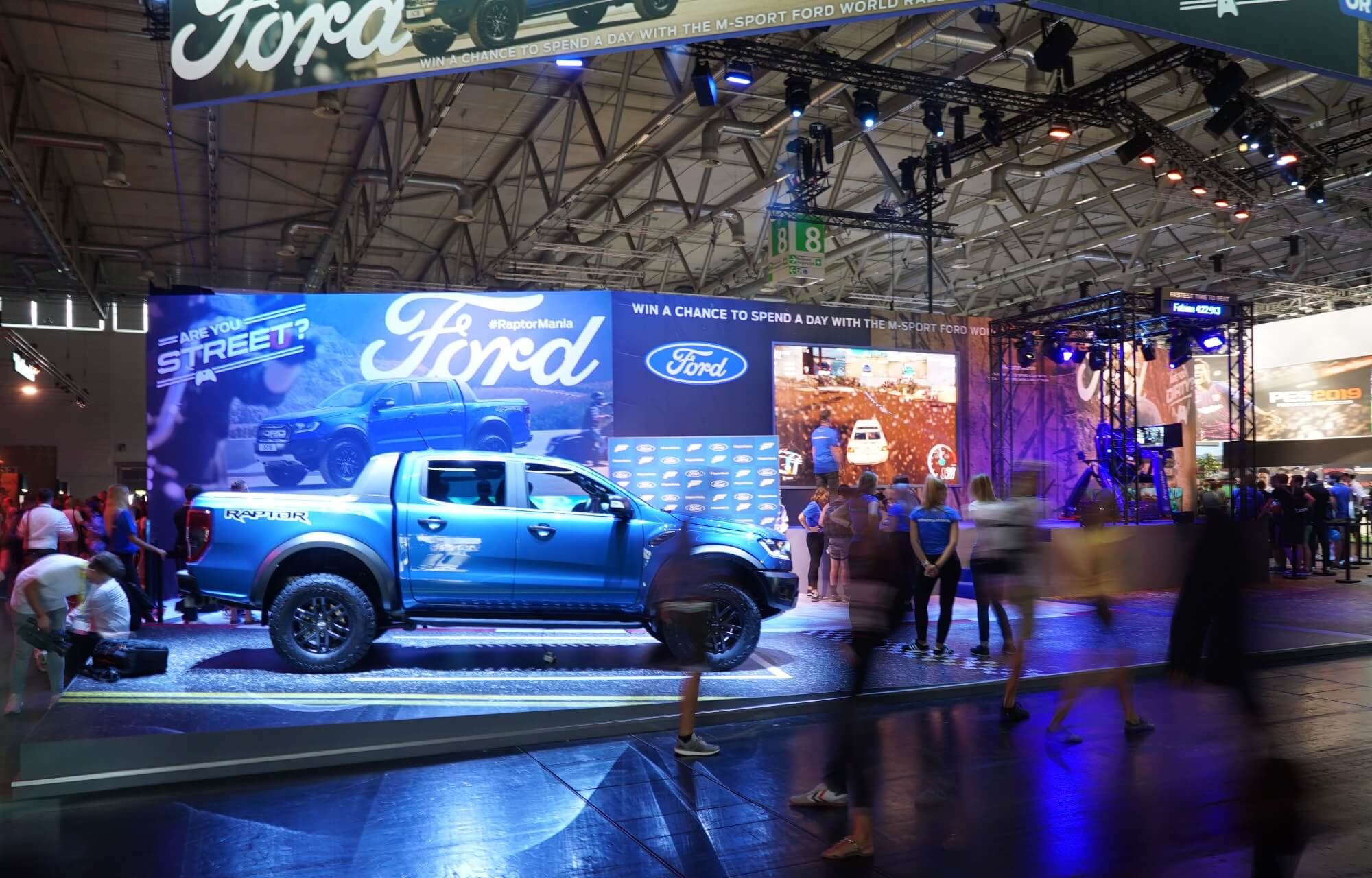 Ford Ranger Raptor Gamescon