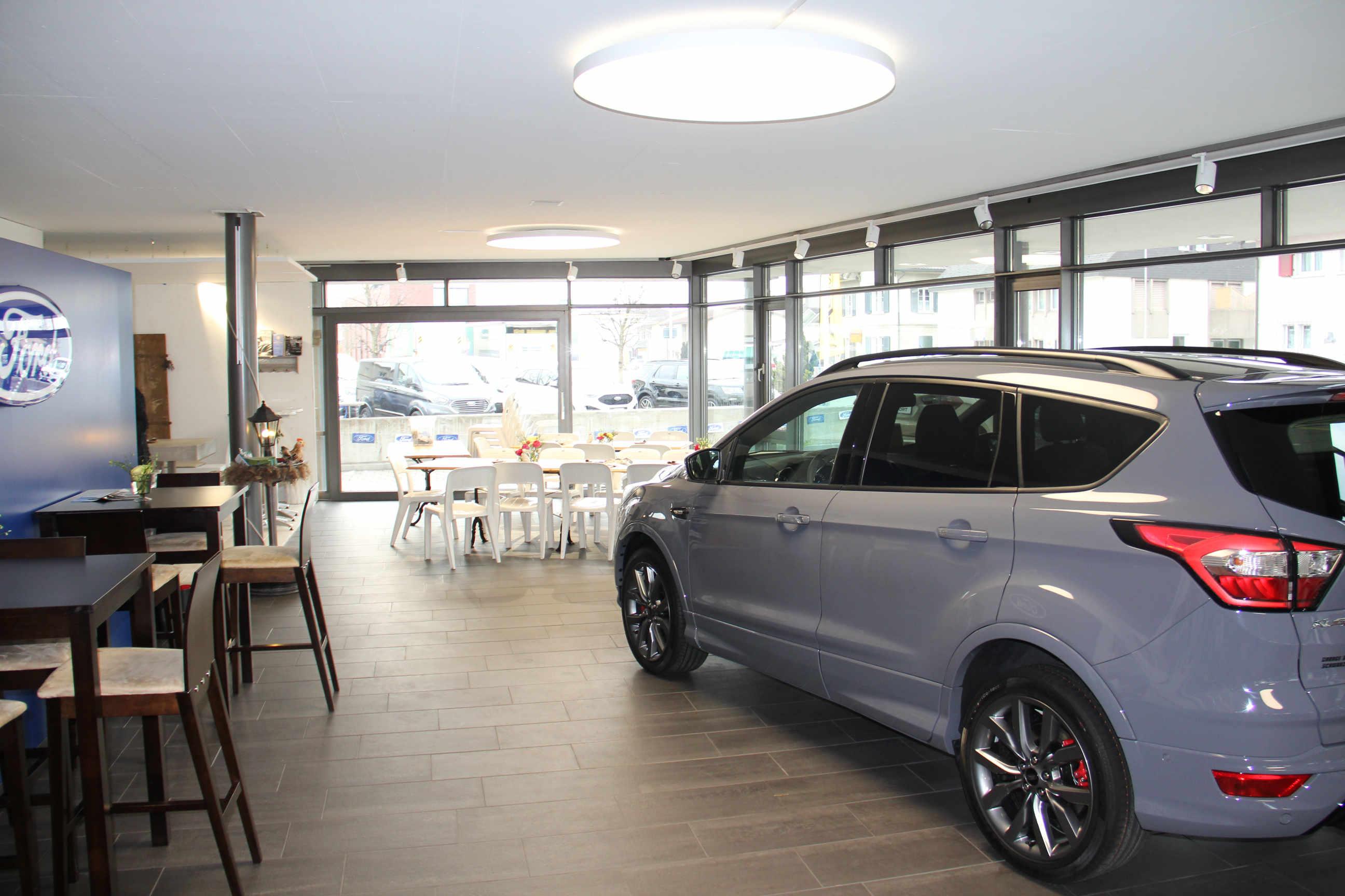 Ford Ausstellung Garage Baumann AG