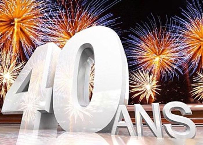 Célébration 40 ans