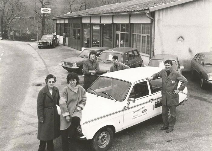 Garage Inter a ses débuts