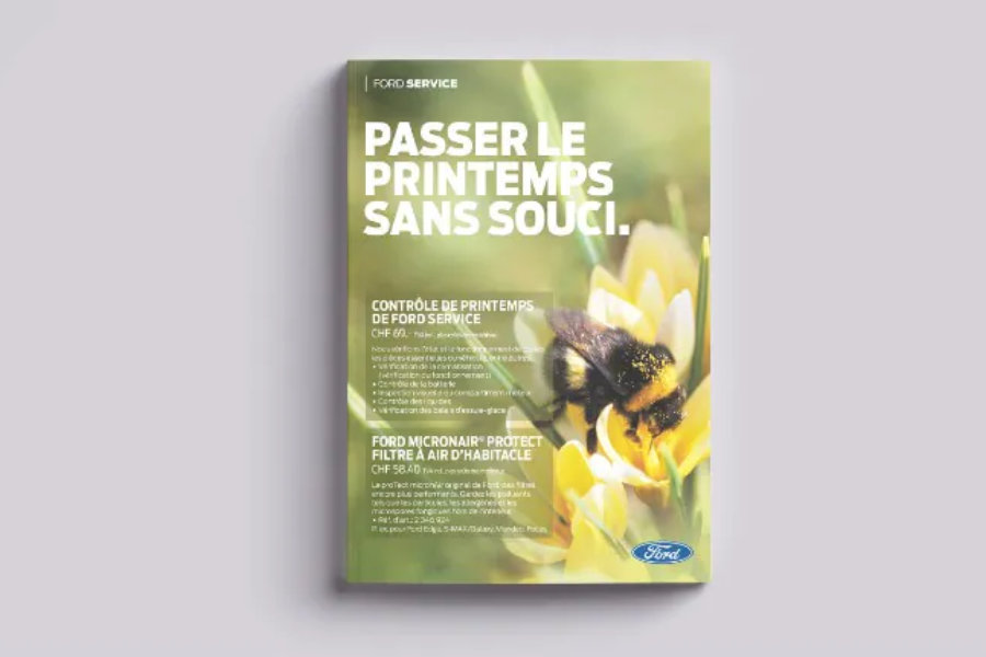 Brochure de primtemps