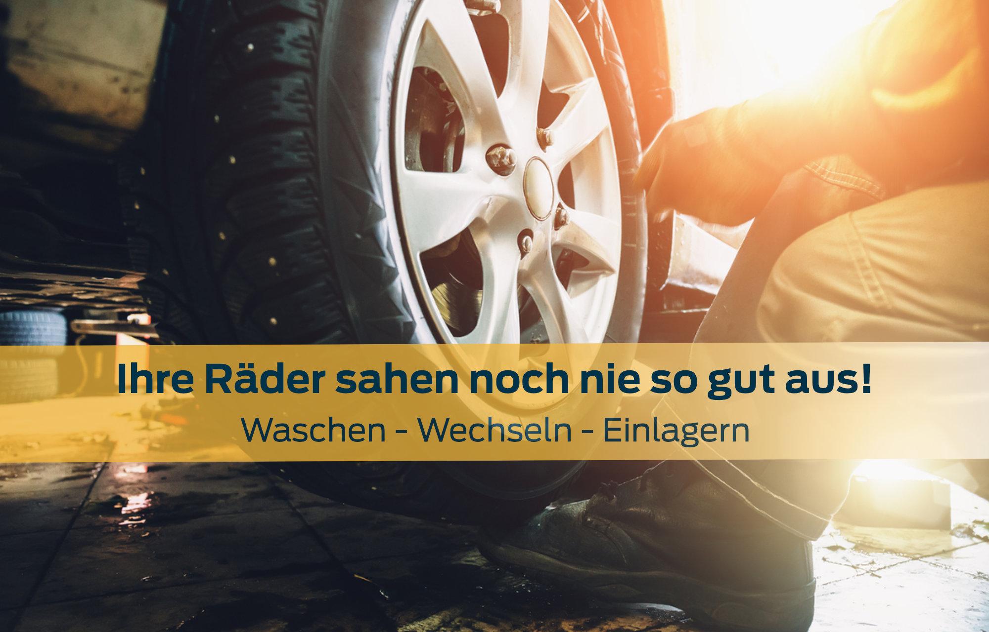 Pneuwechsel Garage Baumann AG