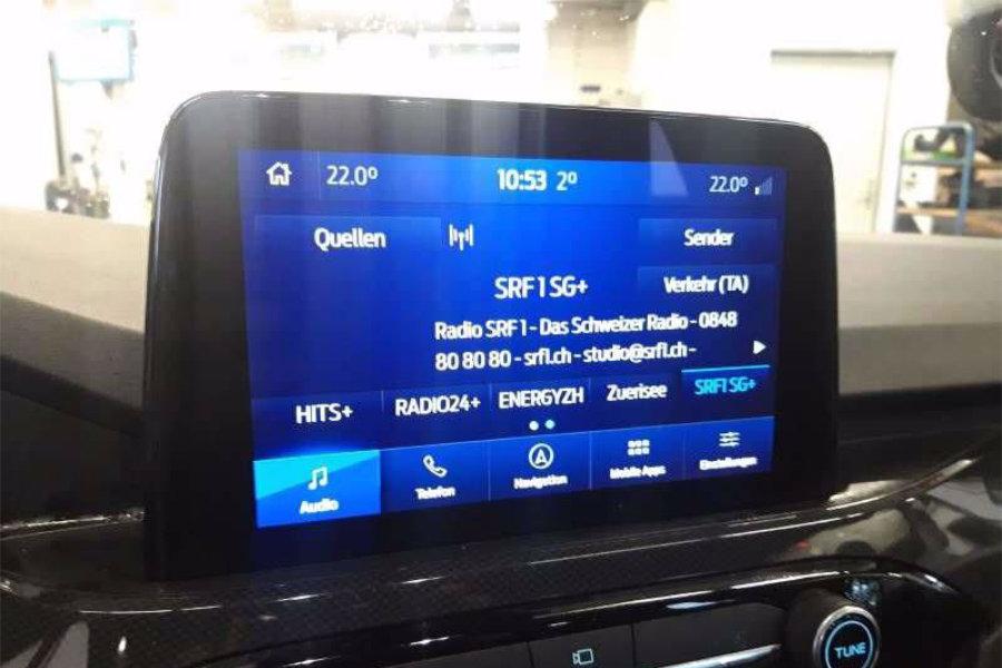 Ford Focus ST-Line bei der Jura Garage Peter