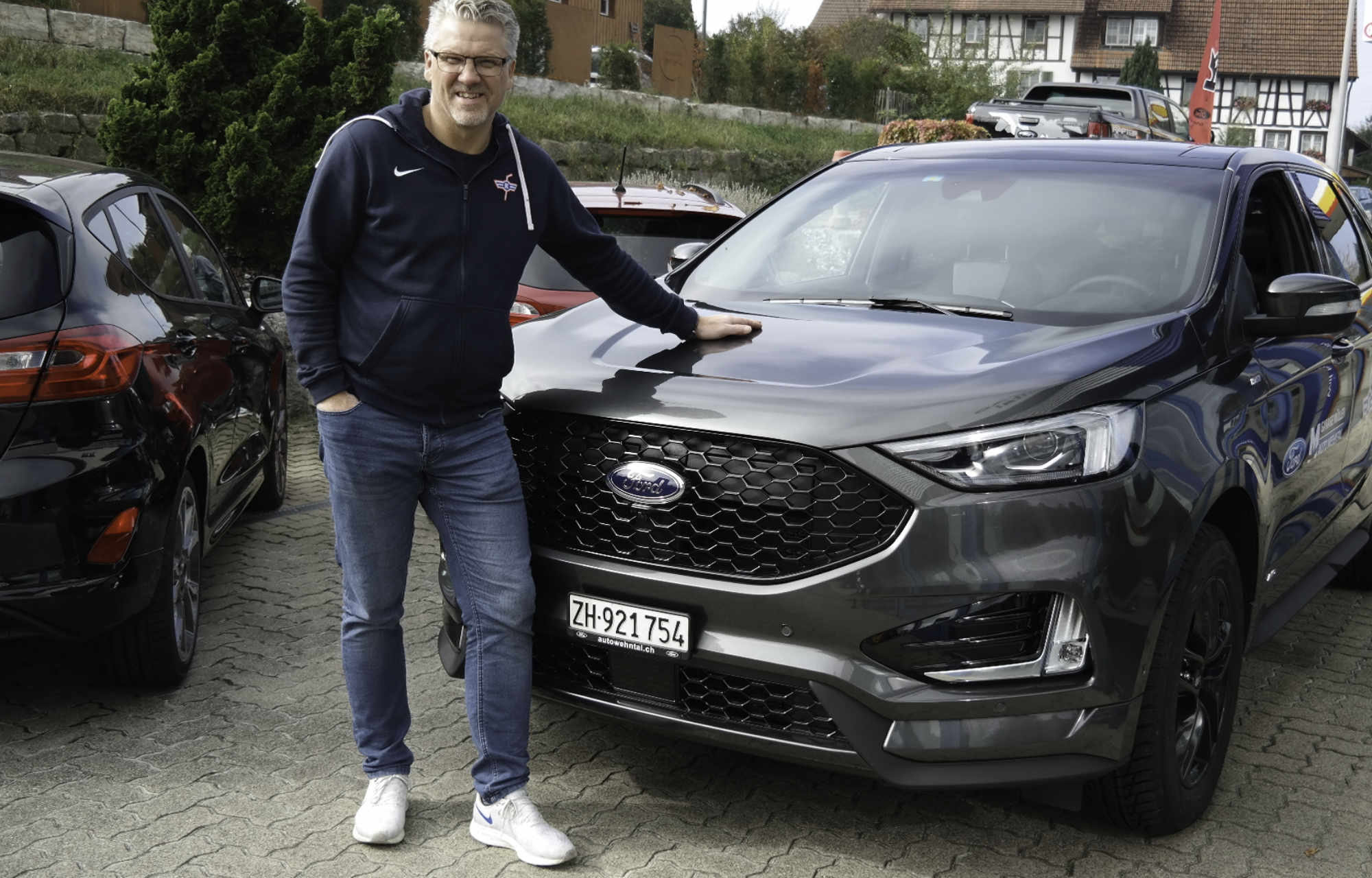 Ford Edge mit Per Hanberg F+Ch Müller AG