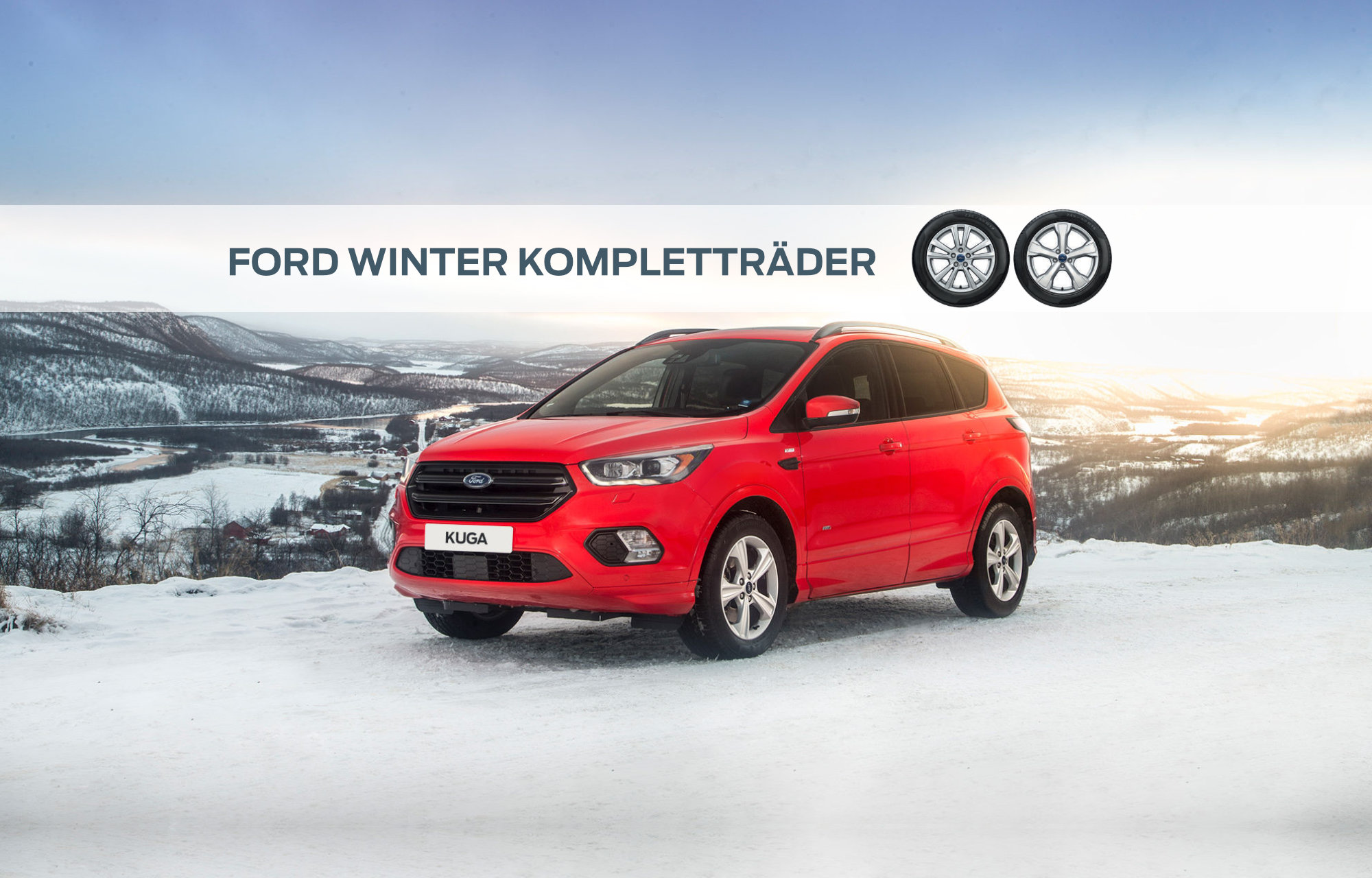 Ford Winter Kompletträder