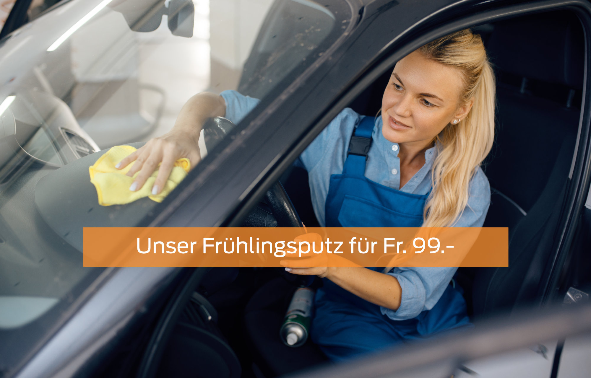 Frühlingsputz für Fr. 99.-