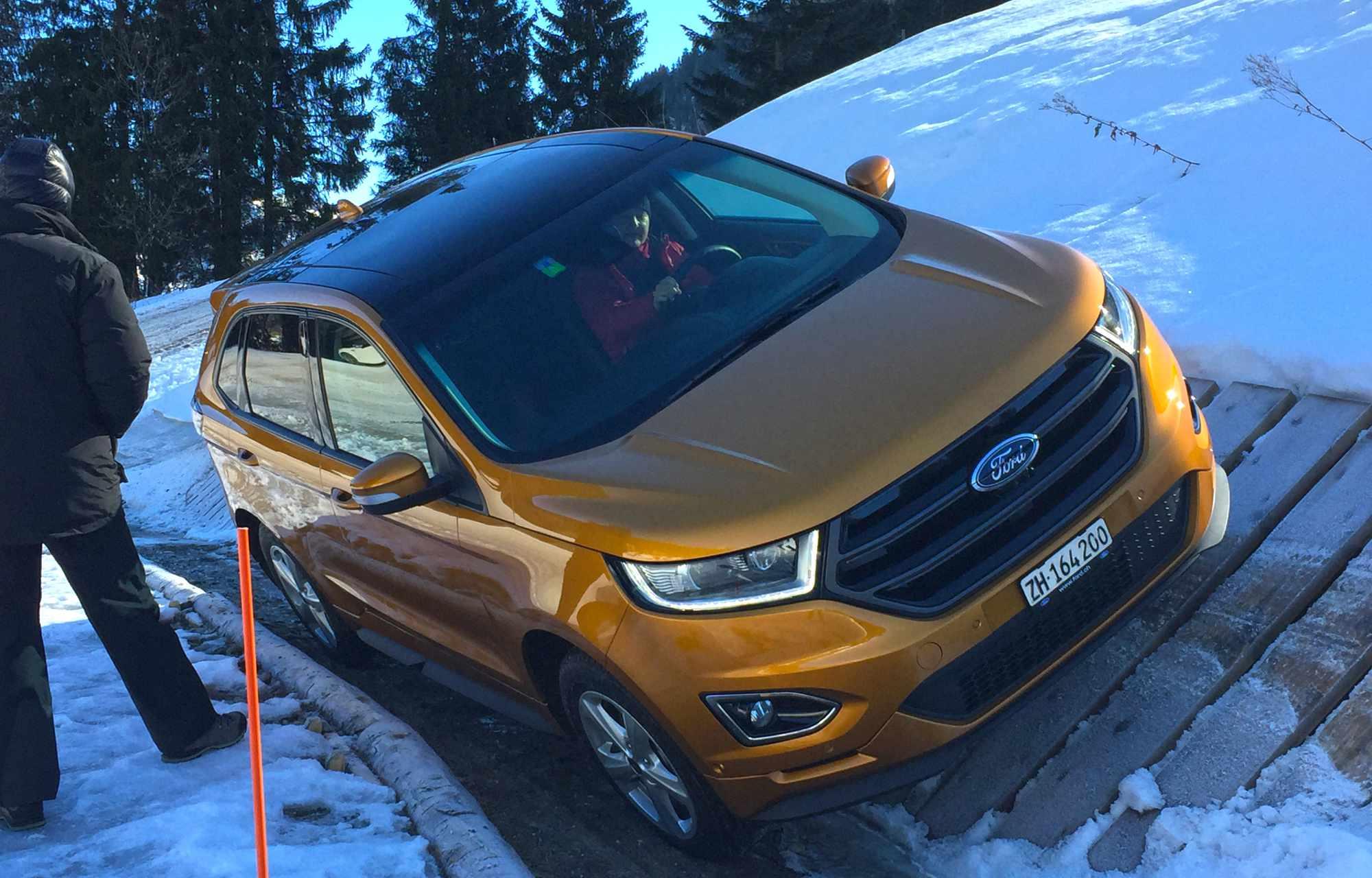 Winterfahrtraining Schönegg Garage Spiez