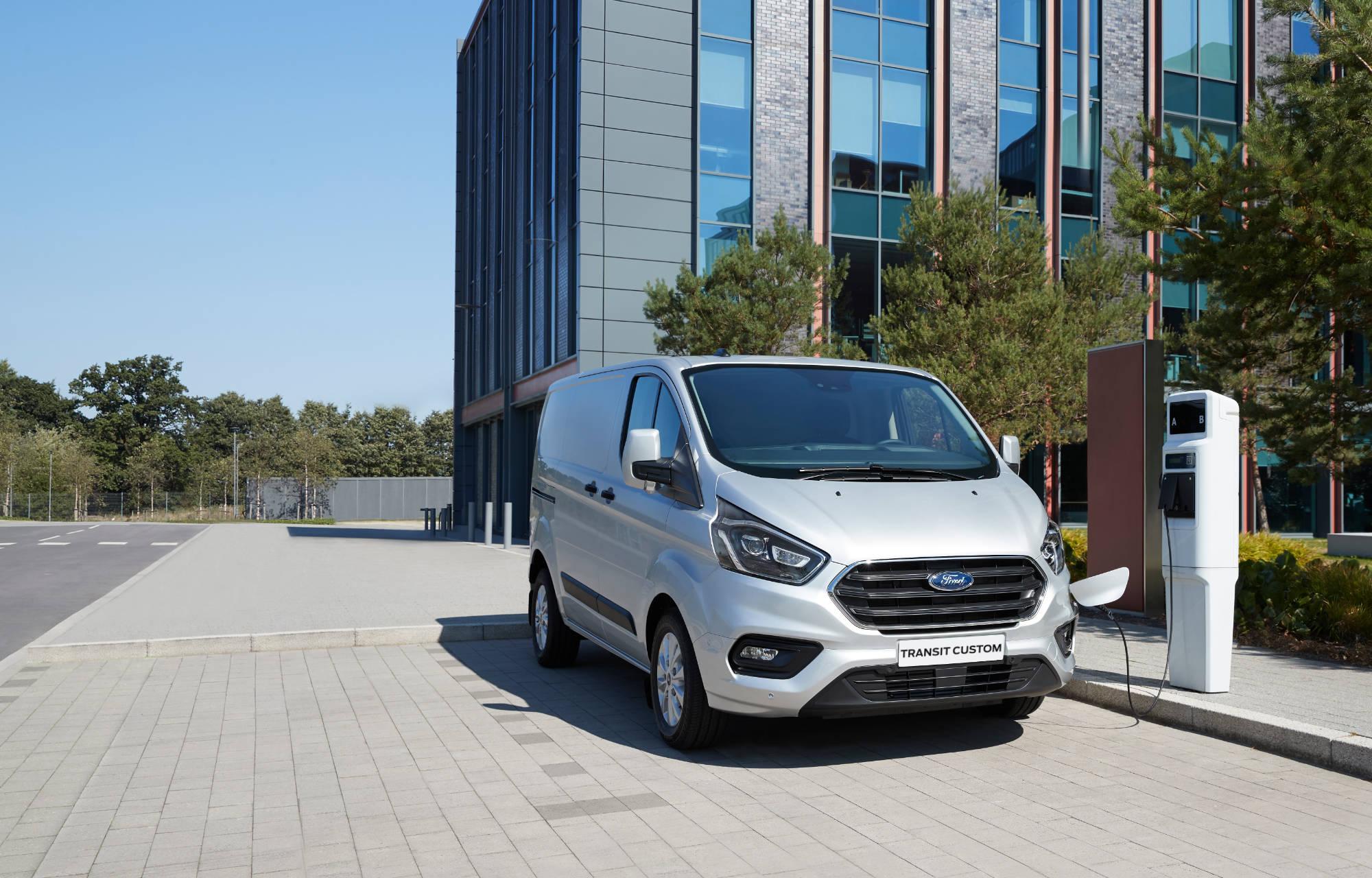 Ford Transit Custom Mild-Hybrid
